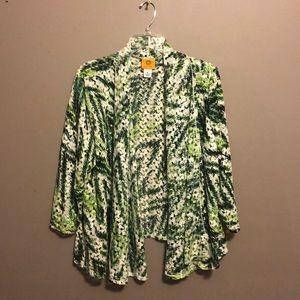 NWOT Ruby Rd cardigan size XL